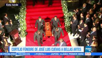 noticias, forotv, Despiden, José Luis Cuevas, Bellas Artes, Palacio Bellas Artes