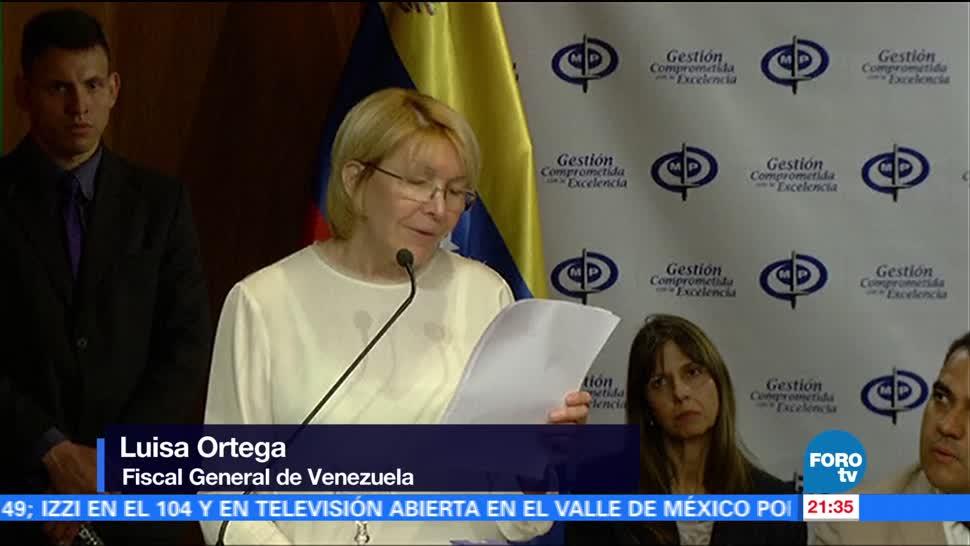 noticias, fortov, Fiscal general, desconoce, Tribunal Supremo, Venezuela