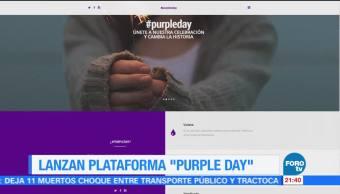 noticias, forotv, Senado, lanza plataforma ,Purple Day, Día Morado