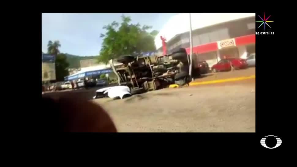 noticias, forotv, Conductor, atestigua, accidente de camión, Acapulco