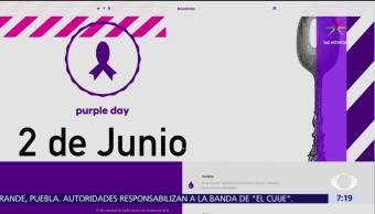 Senado mexicano, Dia Morado', plataforma, orientar, bulimia, anorexia