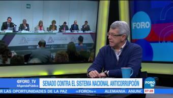 Mauricio Merino, investigador del CIDE, Senado, República,