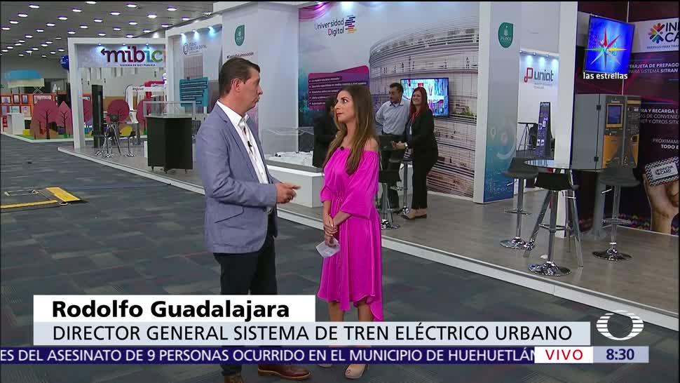 Gobierno del Jalisco, espacios interactivos, Campus Party, Tren Eléctrico Urbano