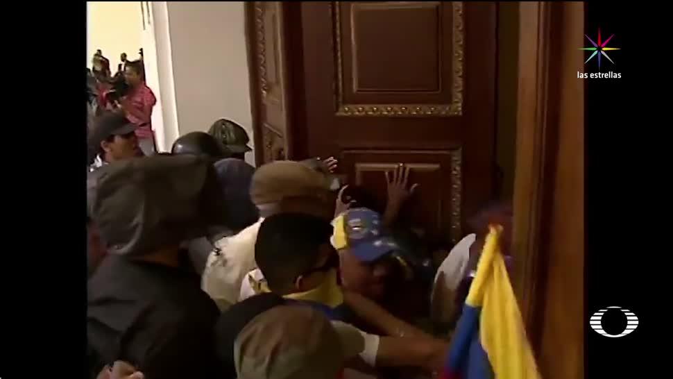 Crónica, ataque, Asamblea, Nacional, Venezuela, protestas
