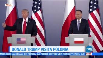 Estados Unidos, Donald Trump, Varsovia Polonia, Cumbre del G20