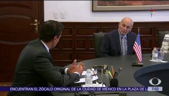Enrique Peña Nieto, Los Pinos, John Kelly, secretario de Seguridad Nacional