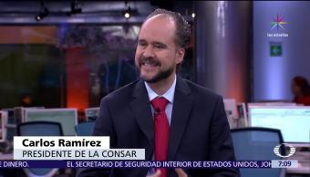 Carlos Ramírez, Comisión Nacional del Sistema de Ahorro, Retiro, pensiones en México
