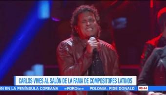 cantautor colombiano, Carlos Vives, Salón de la Fama, Compositores Latinos