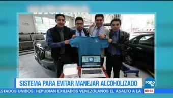 Estudiantes, 'Autoschock', dispositivo, sensor de alcohol