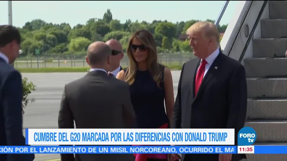 Cumbre del G20, presidente Donald Trump, mandatarios, diametralmente opuestas