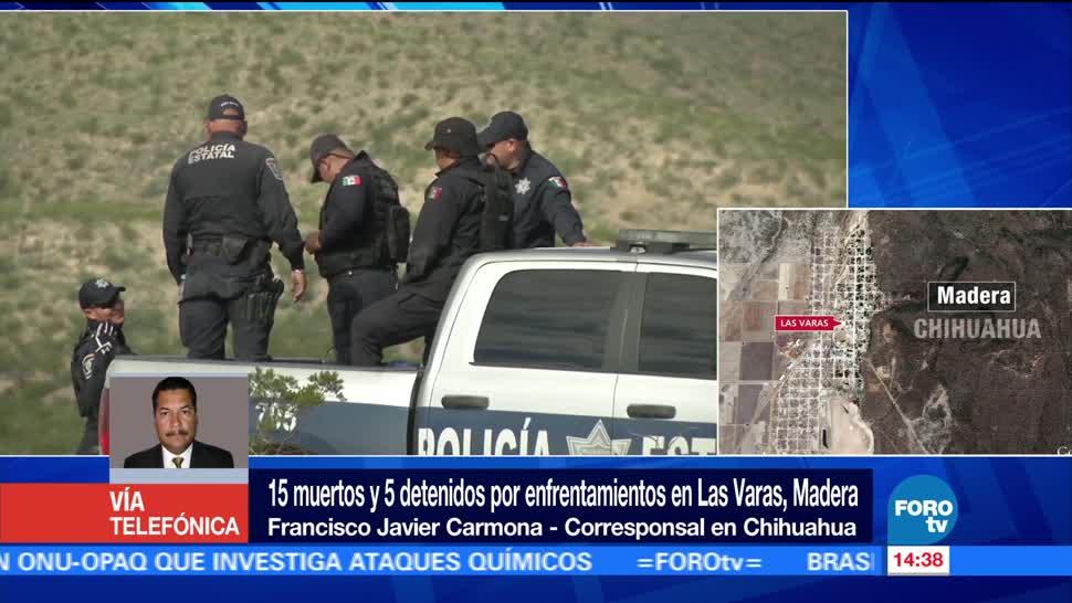 noticias, forotv, Detienen, 5 personas, enfrentamiento, Chihuahua