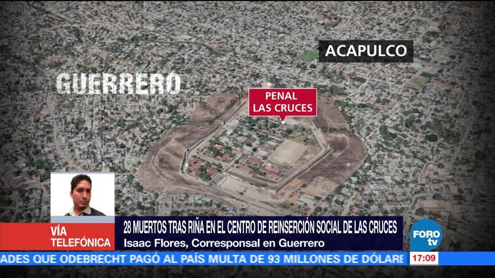noticias, forotv, Familiares, reos, intentan ingresar, penal de Acapulco