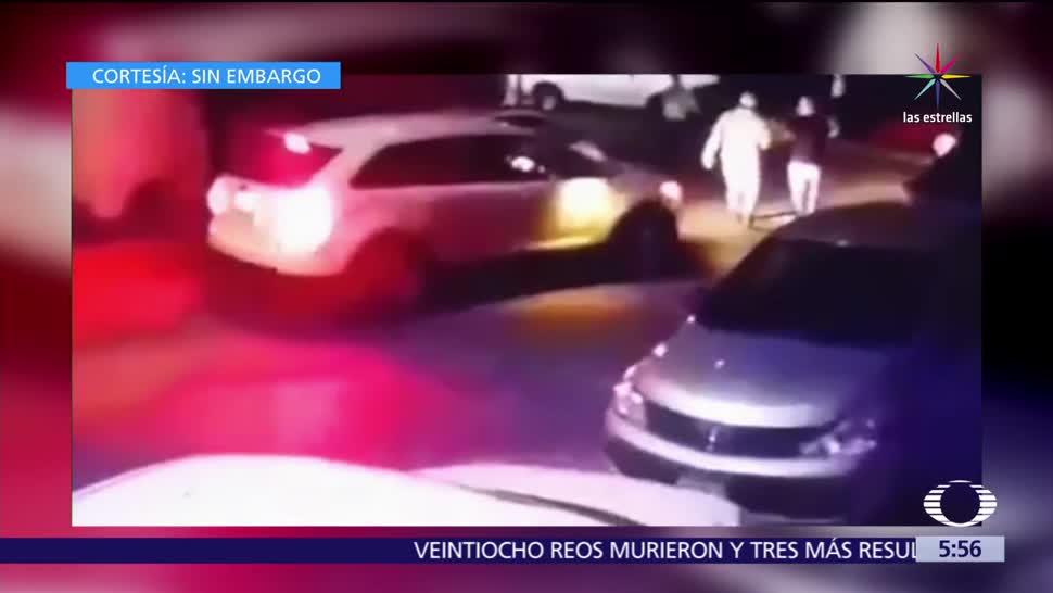 Familiares y vecinos, evitan, secuestro, Monterrey