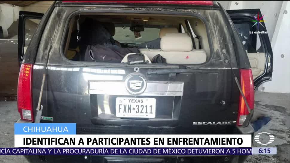 Identifican, participantes de enfrentamiento, Las Varas, Chihuahua