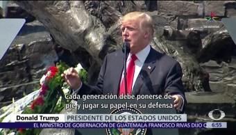 Trump, visitó Polonia, cumbre G20