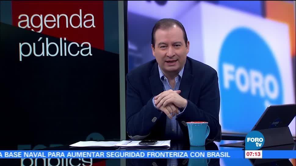 Agenda Pública, julio, Mario Campos, FOROtv