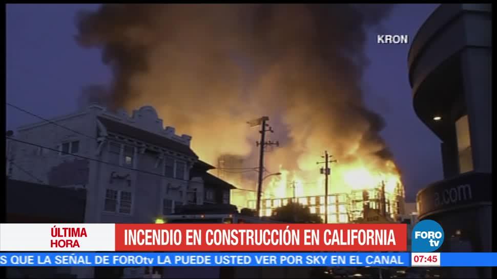 Incendio, construcción, california