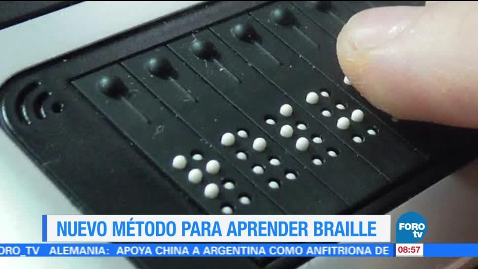 Extra Extra, Nuevo método, aprender braille