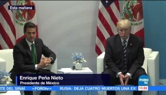 TLC, central del encuentro, Peña Nieto, Trump