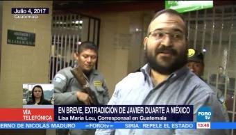 noticias, forotv, En breve, extradición, Javier Duarte, México
