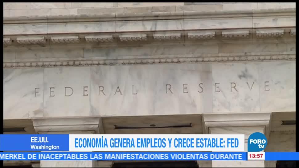 noticias, forotv, Economía, estadounidense, ritmo estable, confianza del consumido