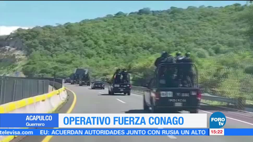 noticias, forotv, Fuerza Conago, Guerrero, Acapulco, operativo