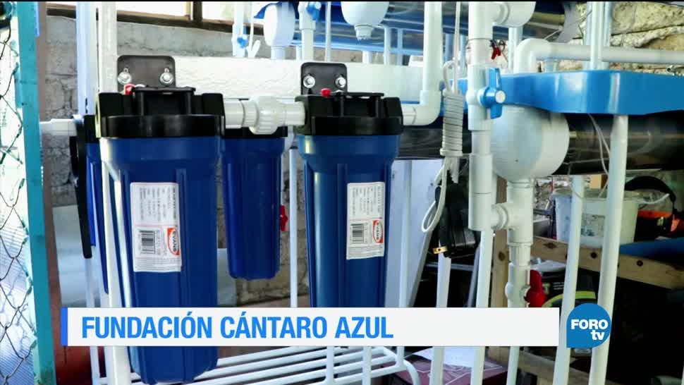 noticias, forotv, Fundación, Cántaro Azul, San Cristóbal de las Casas, Chiapas