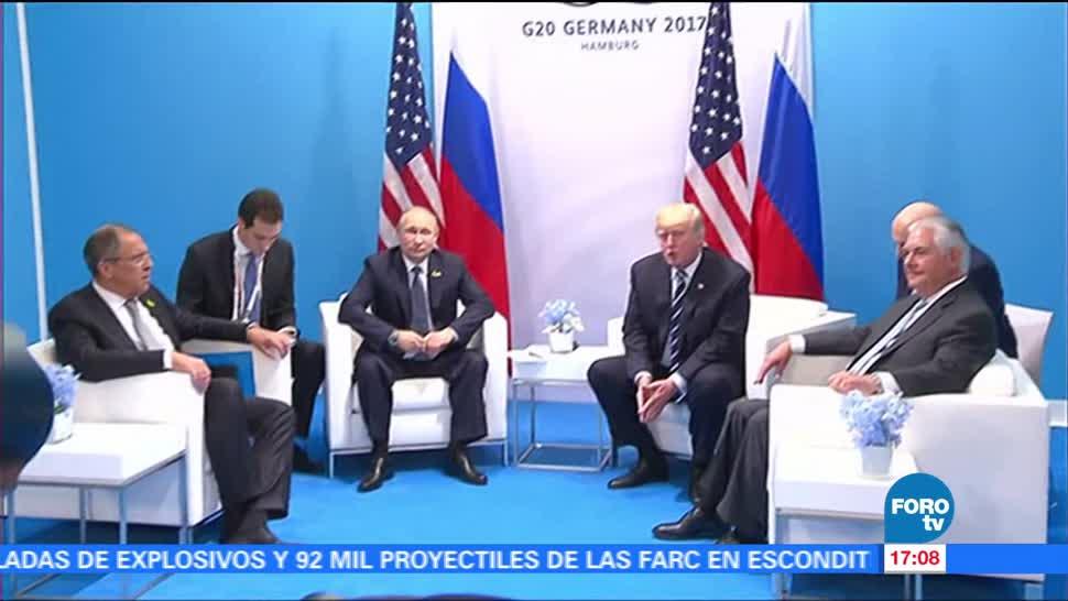 noticias, forotv, Putin, Trump, logran una tregua, Siria