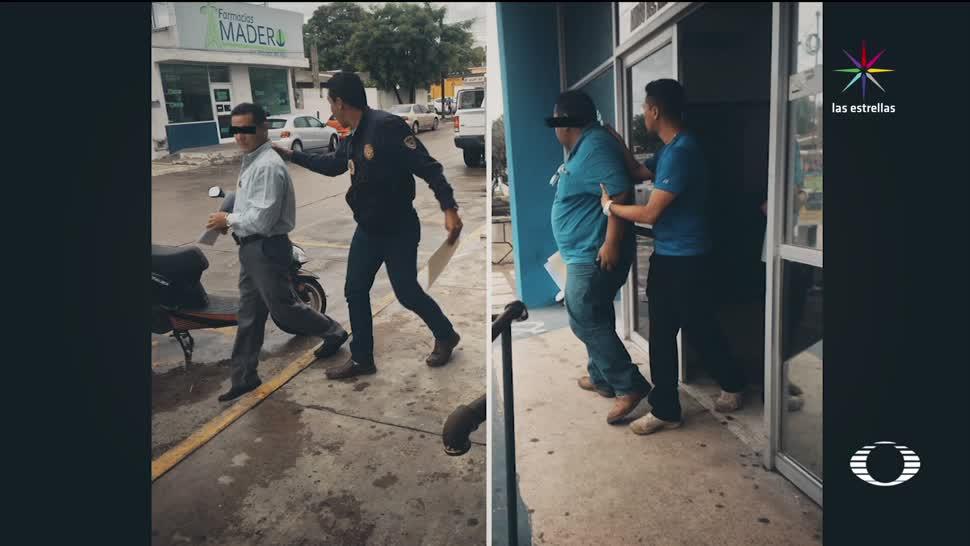 Caen dos, ocultar, medicamentos, Tamaulipas, hospital civil, ciudad madero
