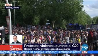 Violentas, protestas, empañan, cumbre G20