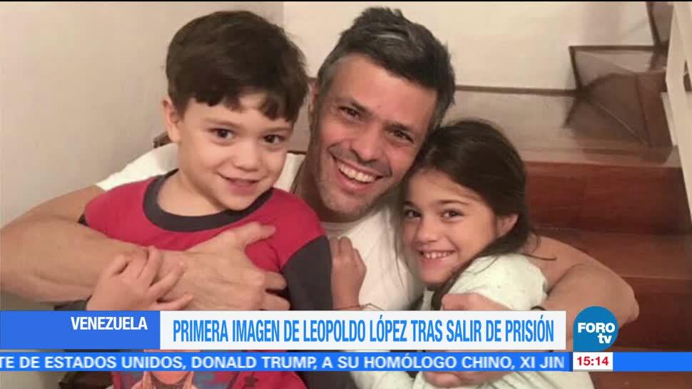 Imágenes, Leopoldo López, sus hijos
