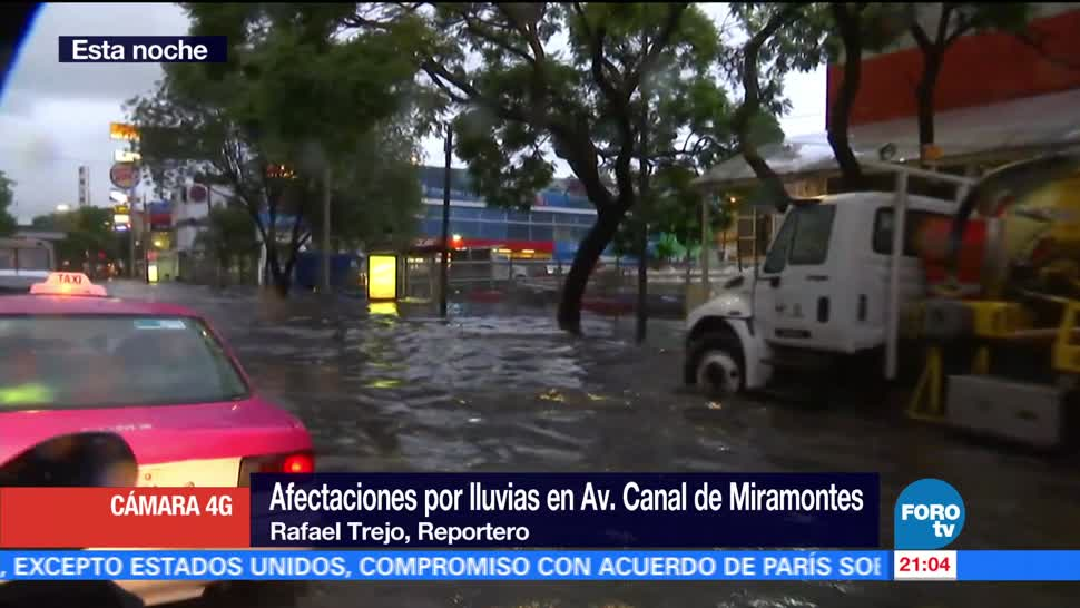 Lluvia, CDMX, causa afectaciones, viviendas, inundaciones, encharcamientos