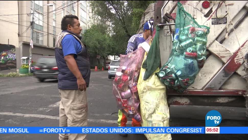 recolectar la basura, residuos, rellenos sanitarios, basura