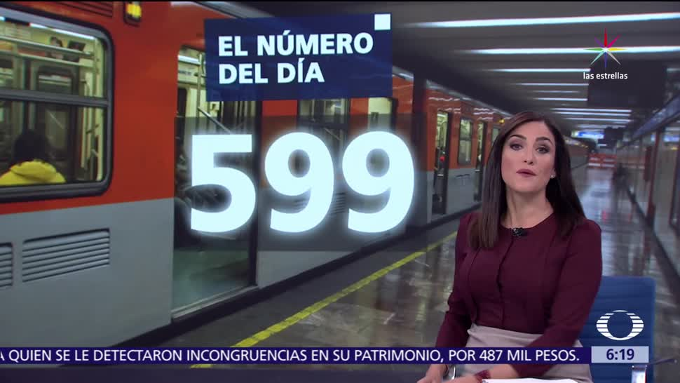 599, asaltos, Metro, Ciudad de México
