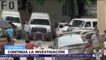 director del penal, penal de Acapulco, Fiscalía, muerte de presos