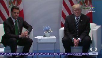 Enrique Peña Nieto, Donald Trump, cumbre del G20, Alemania