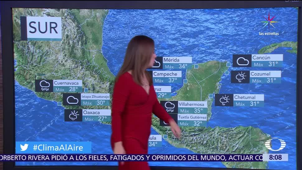 onda tropical, canal de baja presión, zona de inestabilidad, lluvias