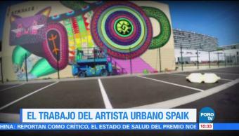 Sofía Escobosa, reportaje, trabajo del artista, artista Spaik