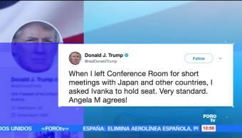 presidente de Estados Unidos, Donald Trump, Ivanka, sesiones del G20
