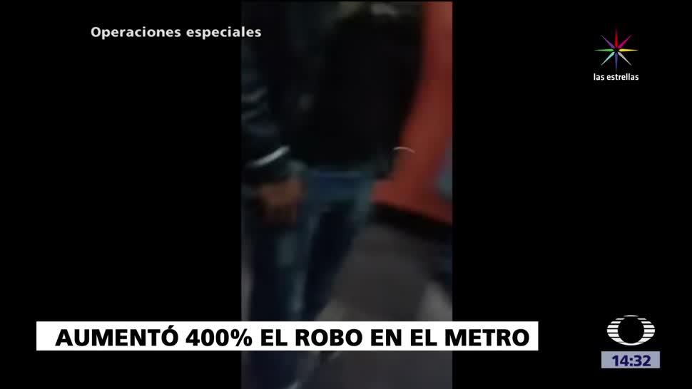 Aumentan, Robos En El Metro, Ciudad De Mexico, Atracos