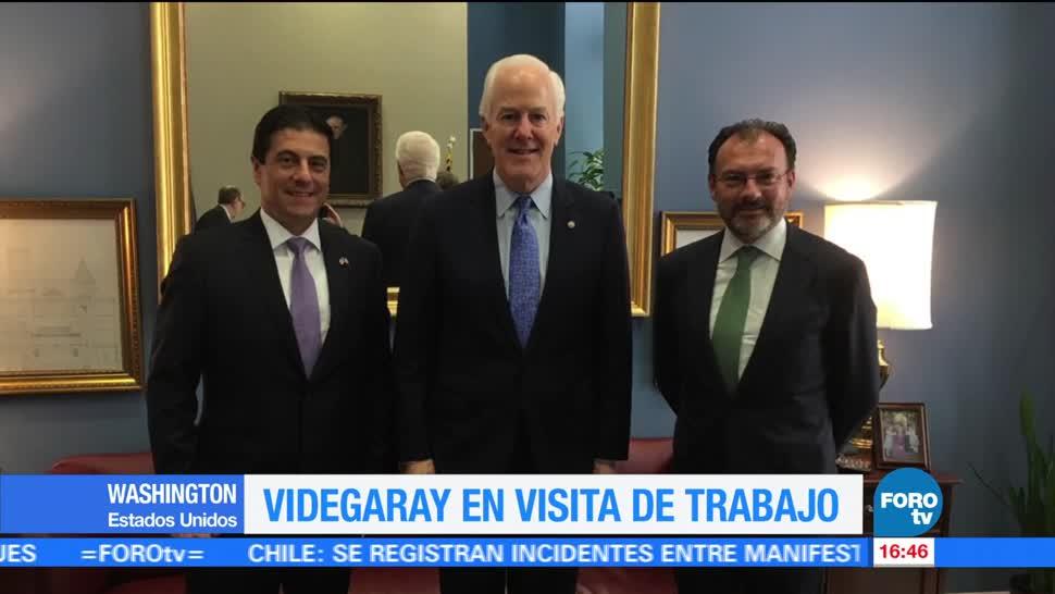 Luis Videgaray, Canciller, Gira De trabajo, Washington