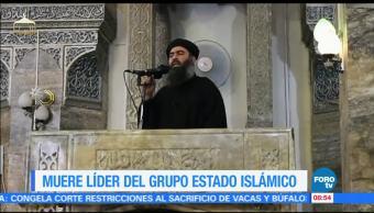 grupo Estado Islámico, muerte de su líder, Abu Bakr Al-Baghdadi, deceso