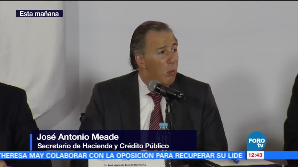 José Antonio Meade, secretario de Hacienda, aumento al salario mínimo, sectores