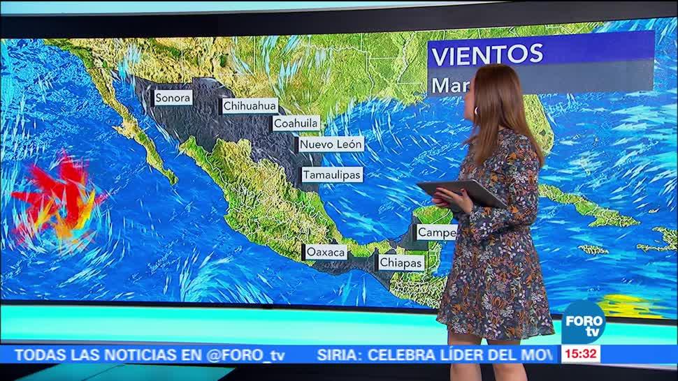 El clima, Raquel Méndez, Tiempo al tiempo, Tormenta Tropical Eugene