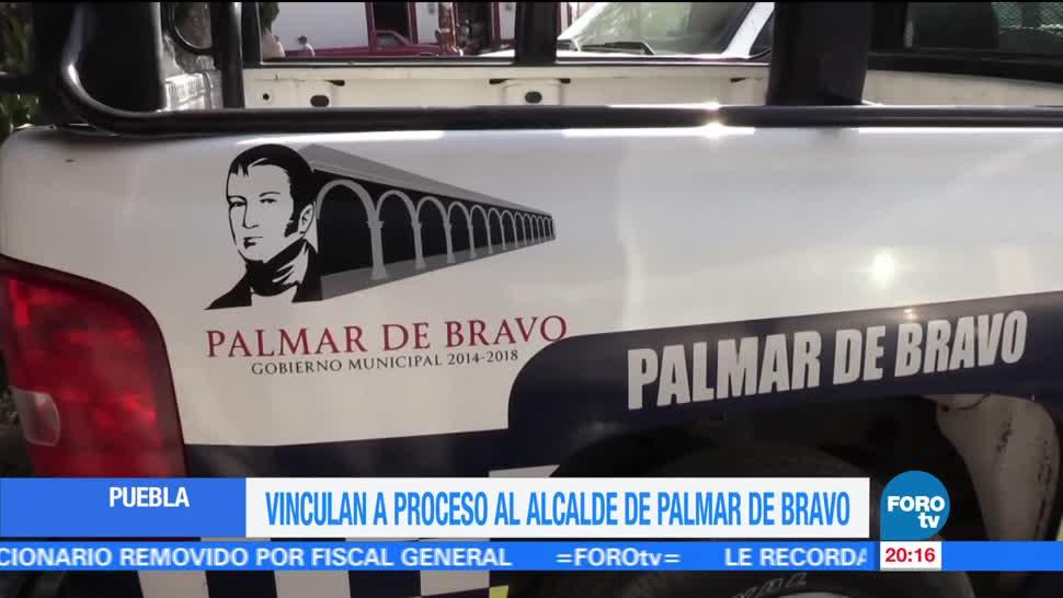 noticias, forotv, Vinculan a proceso, alcade, Palmar de Bravo, Puebla