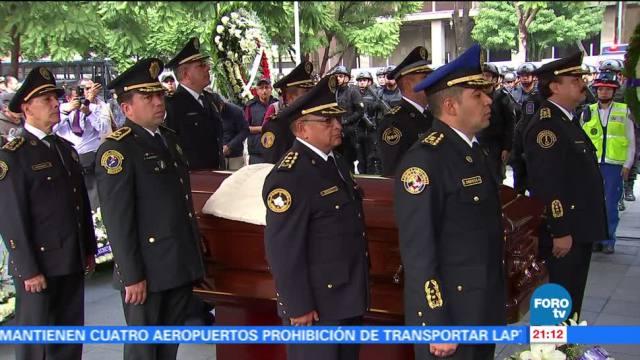 noticias, forotv, Realizan, homenaje, policía muerto, CDMX