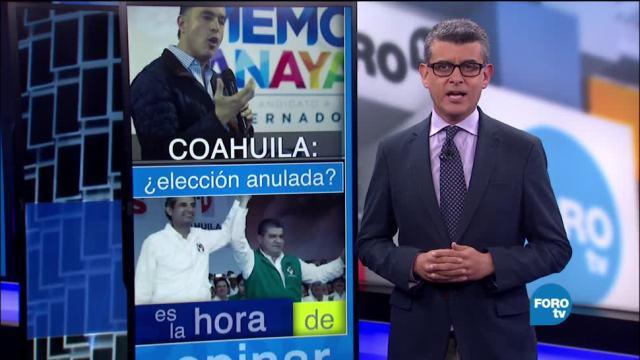 noticias, forotv, anula, elección en Coahuila, Marco Antonio Baños, Coahuila