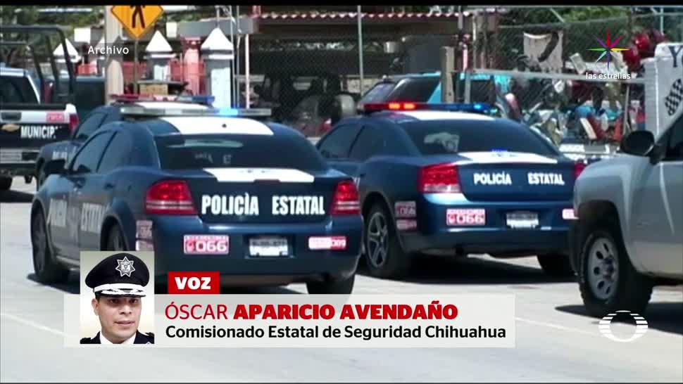 noticias, televisa, Detienen, dos de la Policía Única, Chihuahua, desaparición forzada