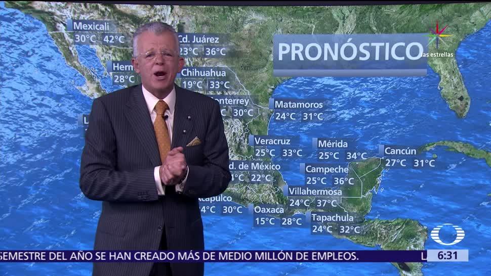 noticias, televisa, Despierta con Tiempo, Onda tropical 13, generará lluvias, lluvias