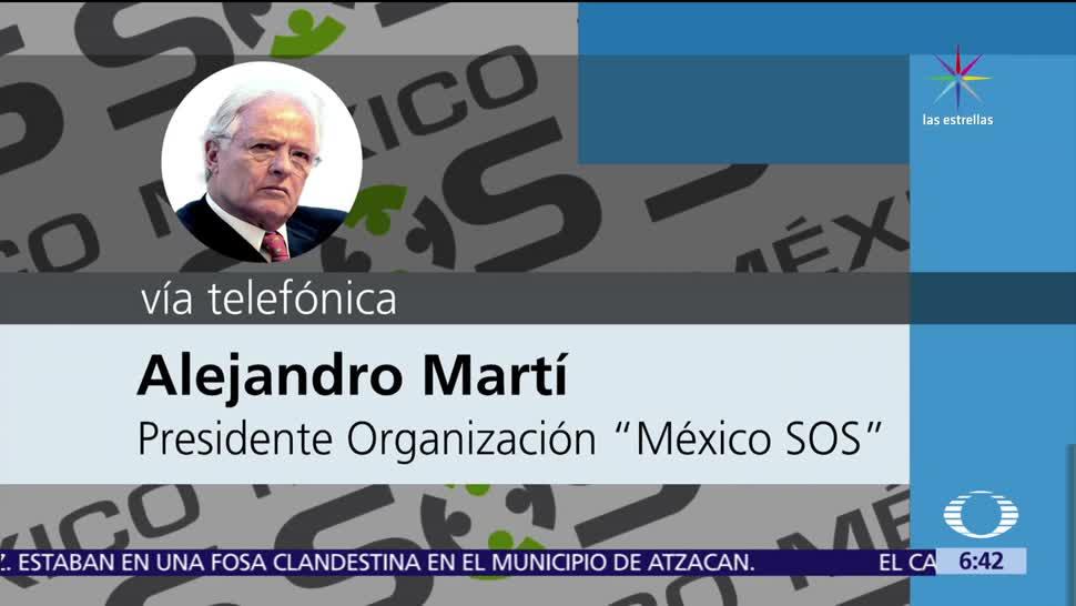 noticia,s televisa, Alejandro Martí, pagará, defensa de militar, mató a huachicolero